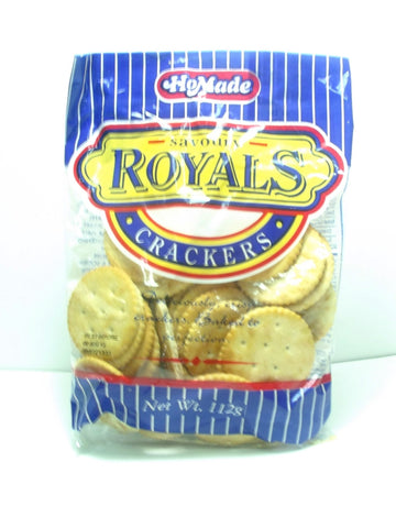 HOMADE ROYALS CRACKERS 112G
