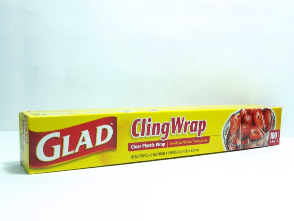 GLAD CLING WRAP 100SFT