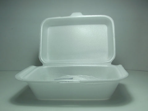 SWEET STYRO FOAM HAMBURGER BOXES 50PC