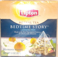 LIPTON HERBAL TEA BEDTIME STORY 31G