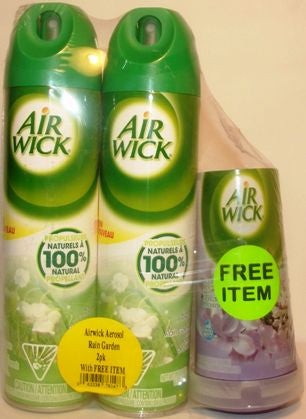 AIRWICK AIR FRESHENER 2IN1 VALUE PK ASSRT 226G