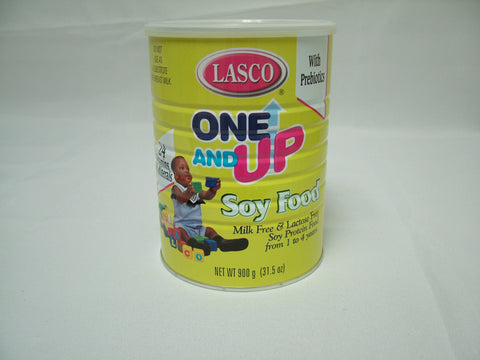 LASCO ONE & UP SOY FOOD MILK FREE & LACTOSE FREE 900 G