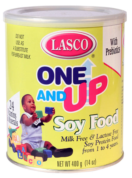 Lasco One Amp Up Soy Food Milk Free Amp Lactose Free 400 G