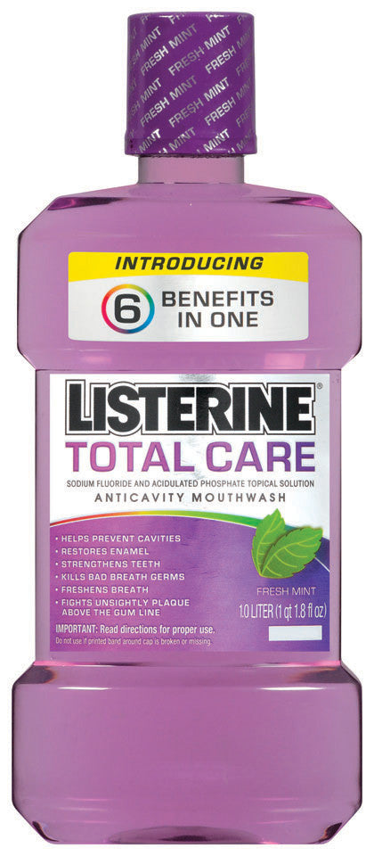LISTERINE TOTAL CARE MOUTH WASH 1LT