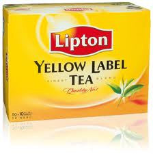 LIPTON YELLOW LABEL TEA 50 TEA