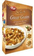 POST SELECT GREAT GRAINS CEREAL 453 G