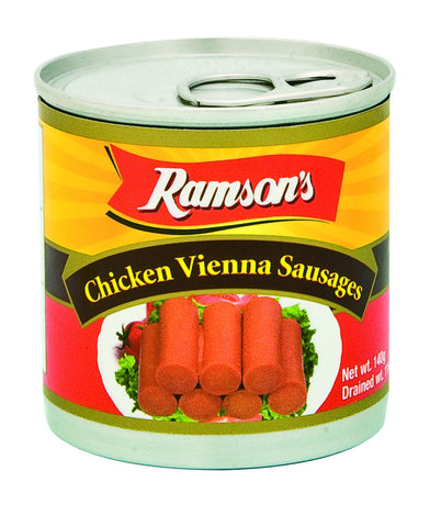 RAMSONS CHICKEN VIENNA SAUSAGES 140 G