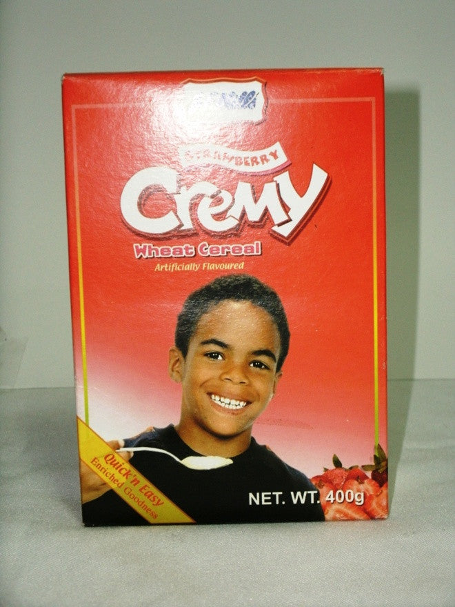 JF MILLS CREAMY WHEAT CEREAL STRAWBERRY 400G