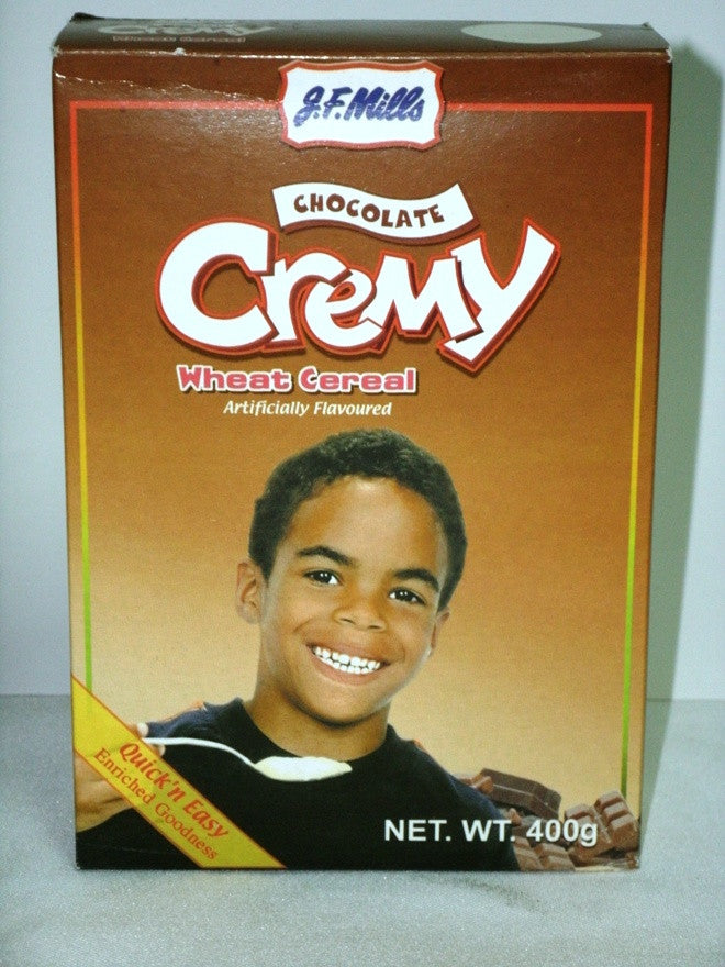 JF MILLS CREAMY WHEAT CEREAL CHOCOLATE 400G