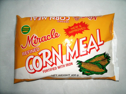 MIRACLE REFINED CORNMEAL 400 G