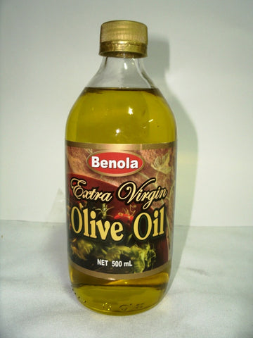 BENOLA EXTRA VIRGIN OLIVE OIL 500ML