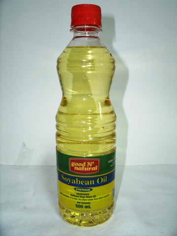 GOOD N NATURAL SOYABEAN OIL 500ML