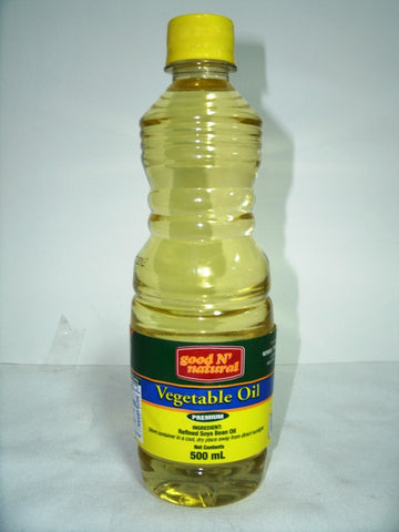 GOOD N NATURAL VEGETABLE OIL 500ML