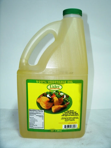 LIDER VEGETABLE OIL 2 L