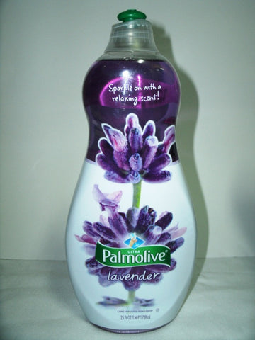 PALMOLIVE ULTRA CONCENTRATED DISH LIQUID -  LAVENDER 739ML