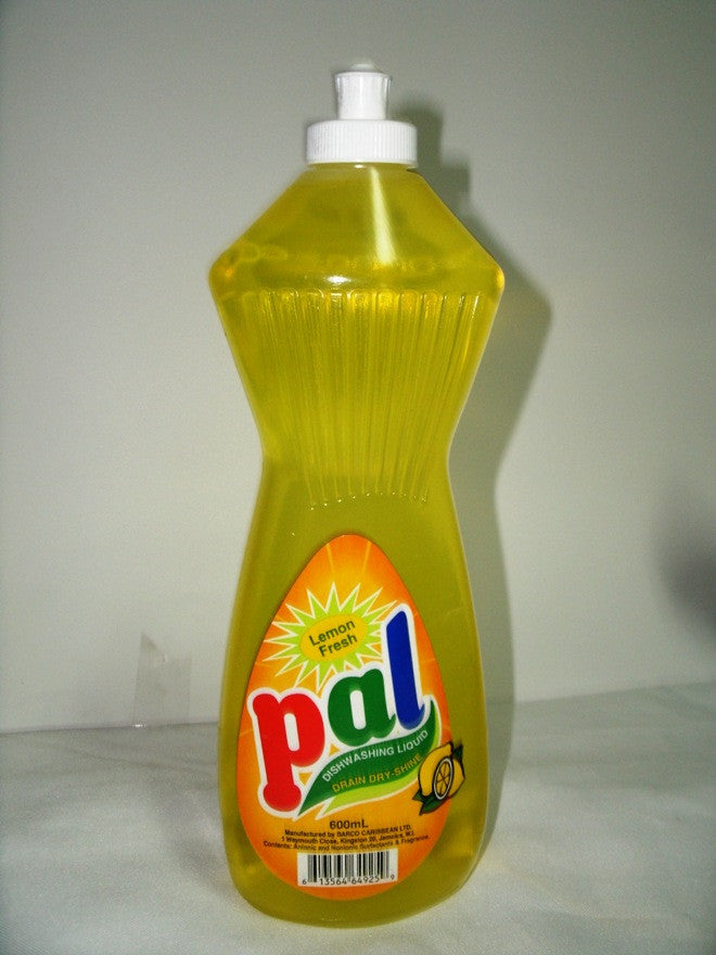 PAL DISHWASHING LIQUID LEMON 600 ML