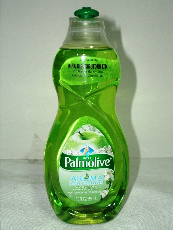 PALMOLIVE ULTRA AROMA CONCENTRATED DISH LIQUID -  GREEN APPLE 295ML (10 OZ)