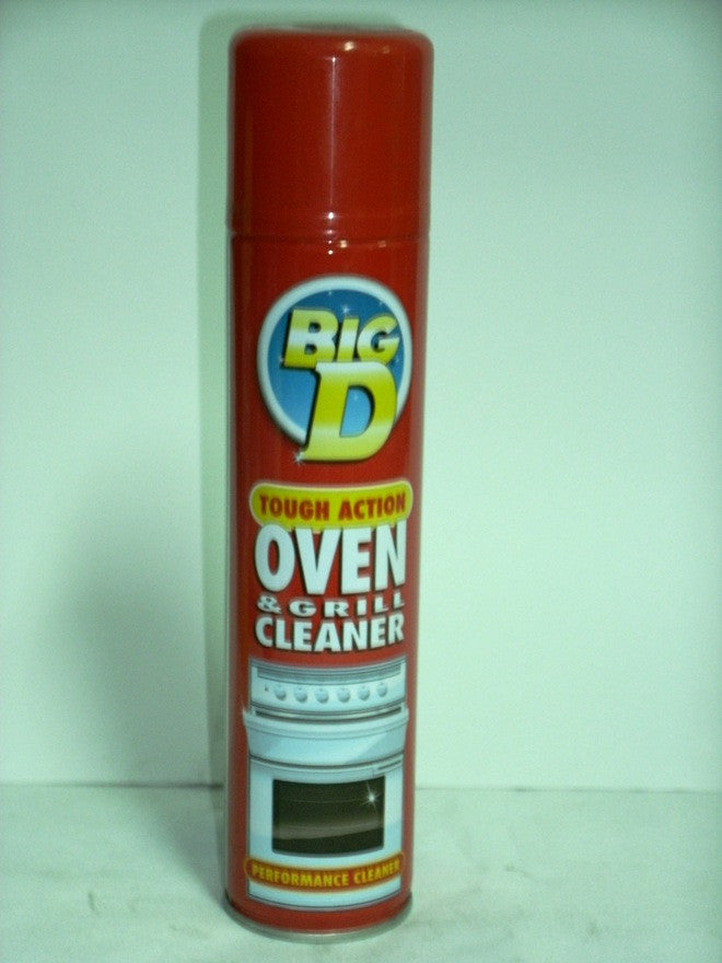 BIG D OVEN & GRILL CLEANER 300ML