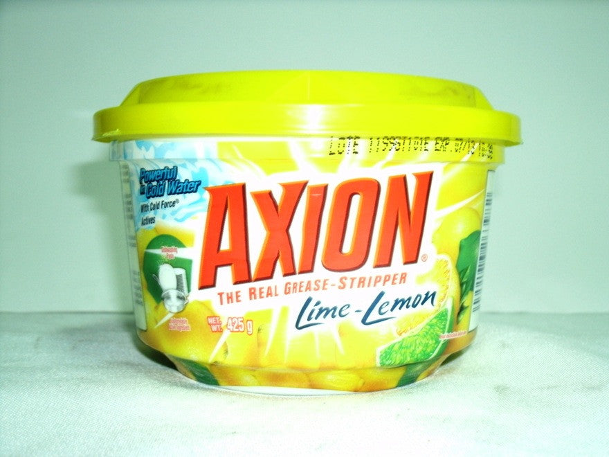 AXION DISHWASHING CREAM LIME- LEMON 425G