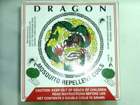 DRAGON MOSQUITO REPELLENT COILS