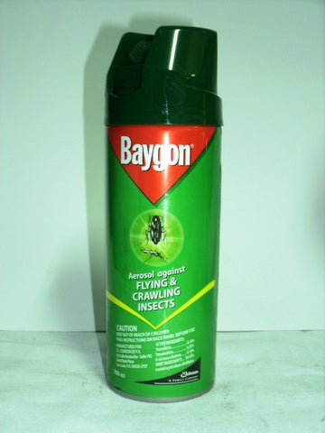 BAYGON AEROSOL FLYING CRAWLING 260ML