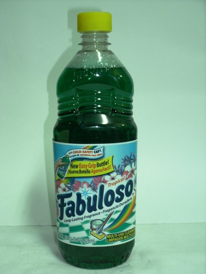 FABULOSO MULTI-USE CLEANER TROPICAL 828ML