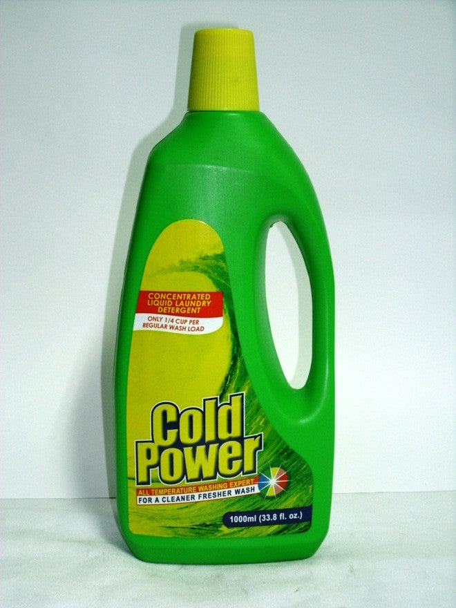 COLD POWER LIQUID DETERGENT 1LT