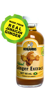 BENJAMINS GINGER EXTRACT 60ML