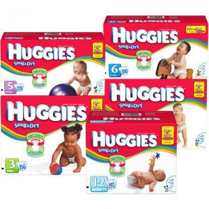 HUGGIES BABY DIAPERS STAGE 2 48-PACK