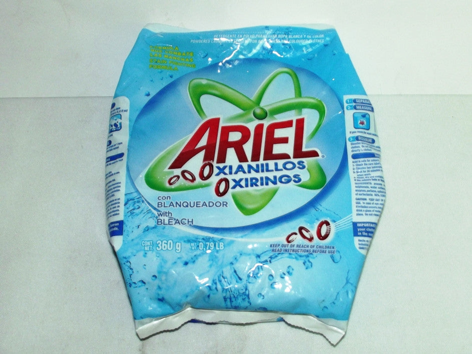ARIELOXIANILLOS DETERGENT WITH BLEACH 360G