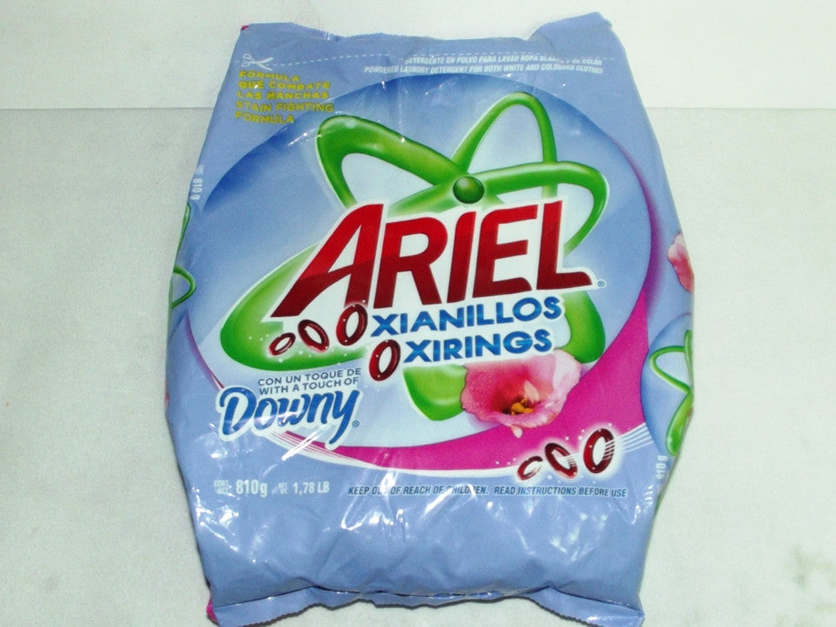 ARIELOXIANILLOS DETERGENT WITH DOWNY 810G