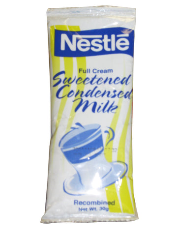 NESTLE FULL CREAM SWEETENED CONDENSED MILK 50-SACHETS 30 G