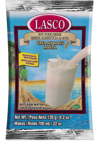 LASCO SOY FOOD DRINK CREAMY MALT 500 G