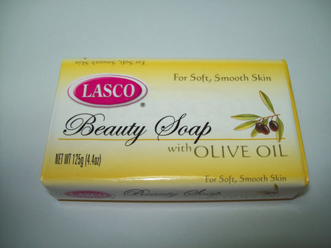 LASCO BATH SOAP OLIVE OIL 125 G