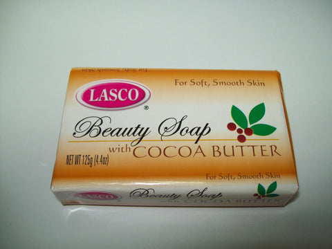 LASCO COCOA BUTTER BATH SOAP  125 G