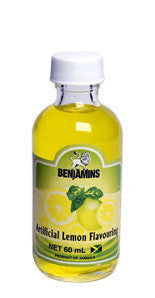 BENJAMINS ARTIFICIAL LEMON FLAVOURING 60ML