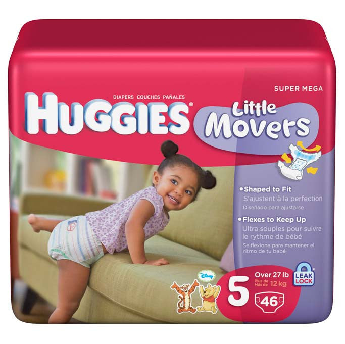 huggies baby diapers stage 5 36 pack sam s bread butter express