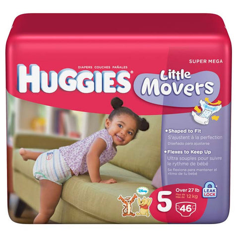 HUGGIES BABY DIAPERS STAGE 5 36-PACK