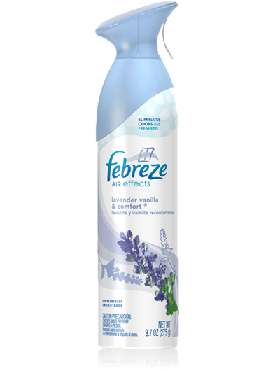 FEBREEZE AIR EFFECT LAVENDER VANILLA & COMFORT 275G