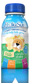 PEDIASURE VANILLA WITH FIBRE SHAKE 237 ML