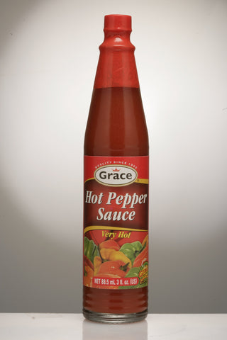 GRACE HOT PEPPER SAUCE 3OZS