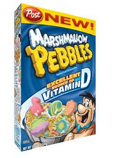 POST MARSHMALLOW PEBBLES CEREAL 304 G