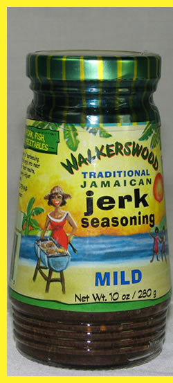 WALKERSWOOD JAMAICAN JERK SEASONING MILD 280G