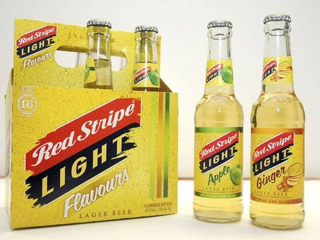 RED STRIPE LITE FLAVOURS BEER  275ML (6 PACK)
