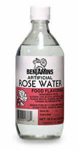 BENJAMINS ROSE WATER ALMOND 120ML