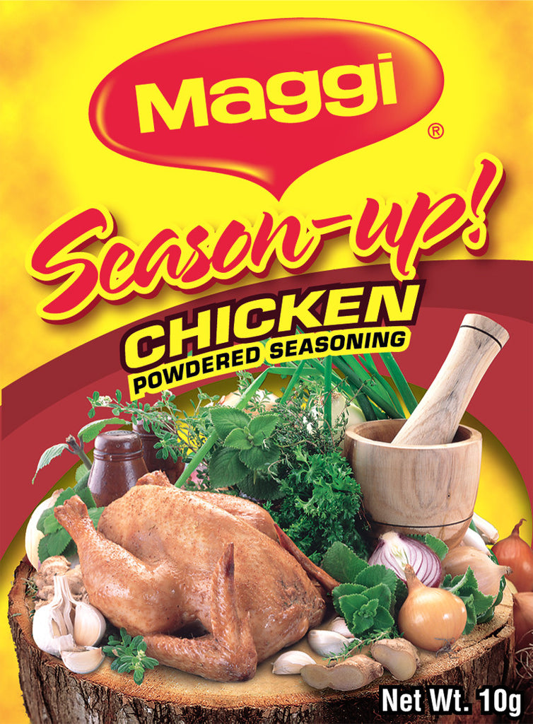 MAGGI SEASON UP CHICKEN POWDERED SEASONING 1*12*10G
