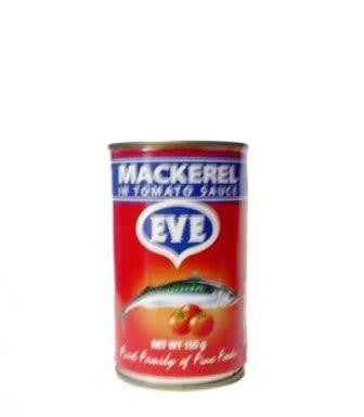 EVE MACKEREL IN TOMATO SAUCE 155G