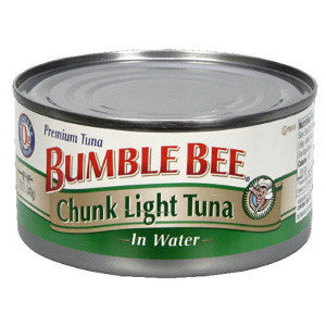 BUMBLE BEE CHUNK LIGHT TUNA IN WATER 170G