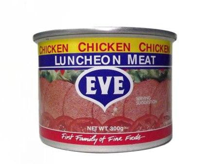EVE CHICKEN LUNCHEON MEAT 300G