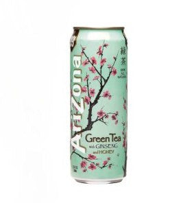 ARIZONA GREEN TEA WITH GINSENG & HONEY JUICE 680ML